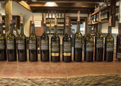 Langmeil Winery wine bottles